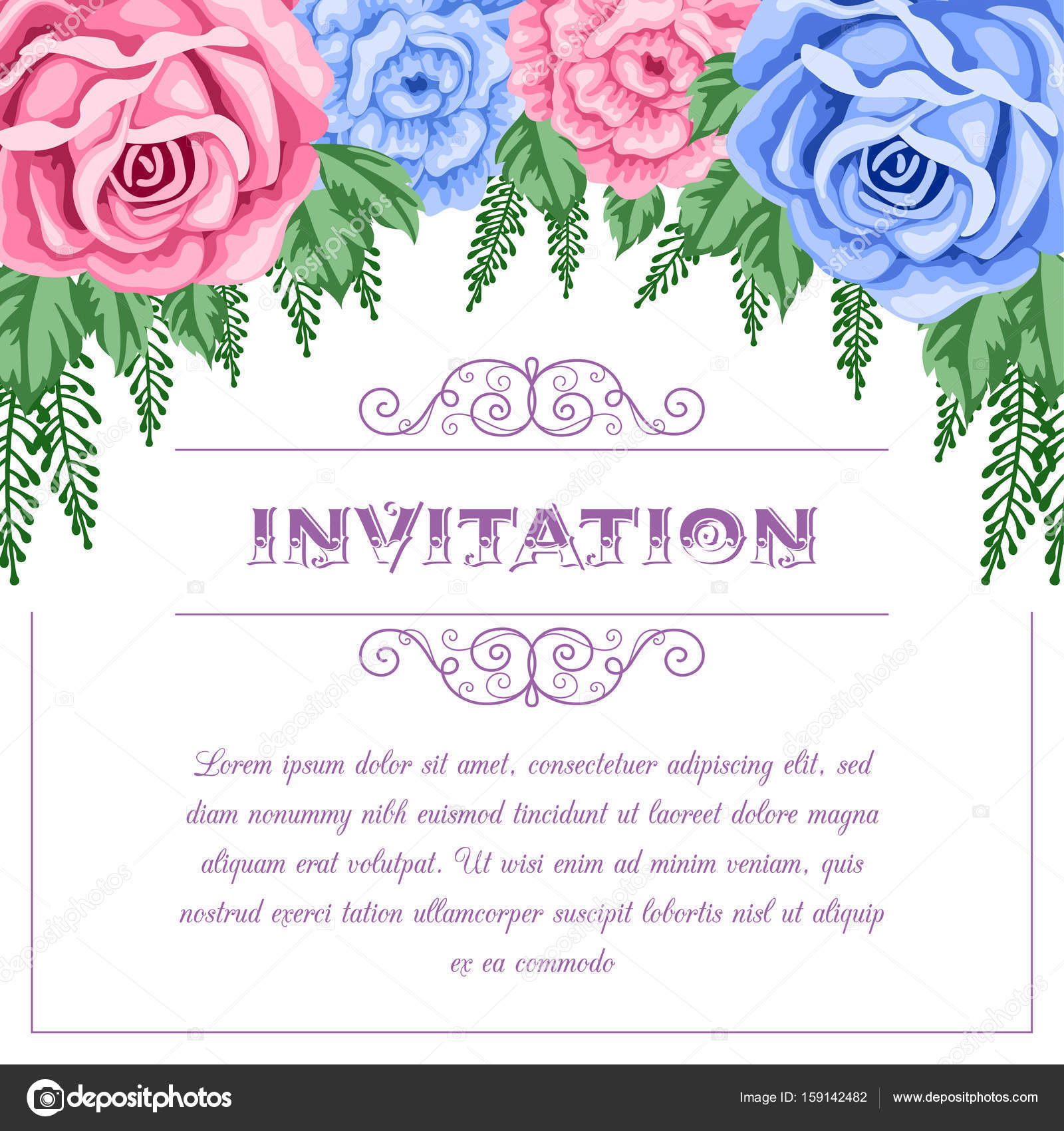 Retro bridal shower invitation stock vector nonikastar 159142482 bridal shower or wedding invitation template with flowers vector illustration in retro style vector by nonikastar filmwisefo