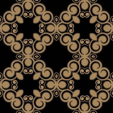 Swirly seamless pattern