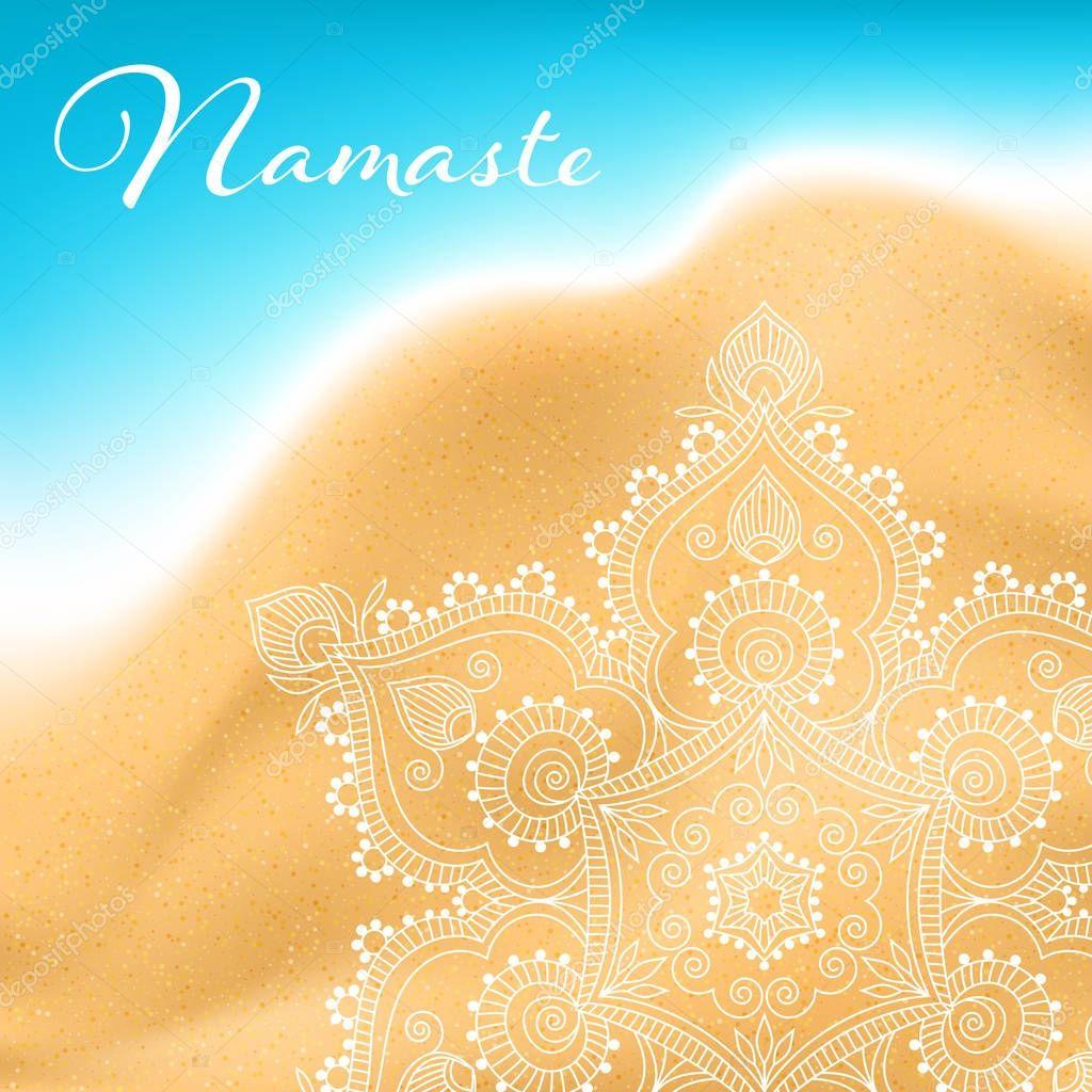 Namaste mandala banner