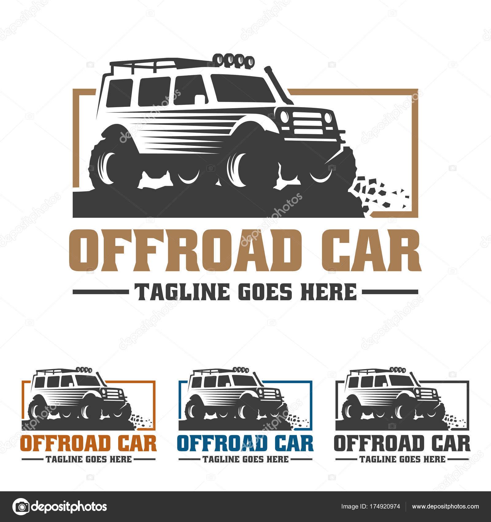 Off Road-Fahrzeug-Logo, Offroad-Logo, Suv Auto Logo Vorlage, Off ...