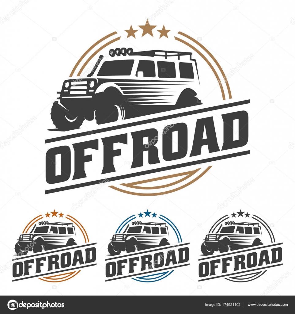 insignia del coche de carretera, offroad logo, Suv coches logotipo ...