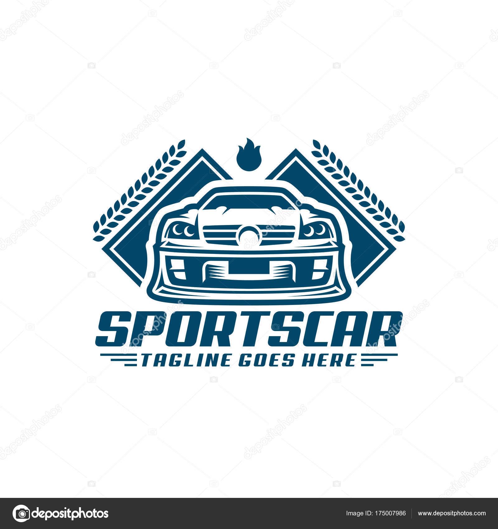 Sports Car Logo Template Or Icon Stock Vector Ednalstudio 175007986