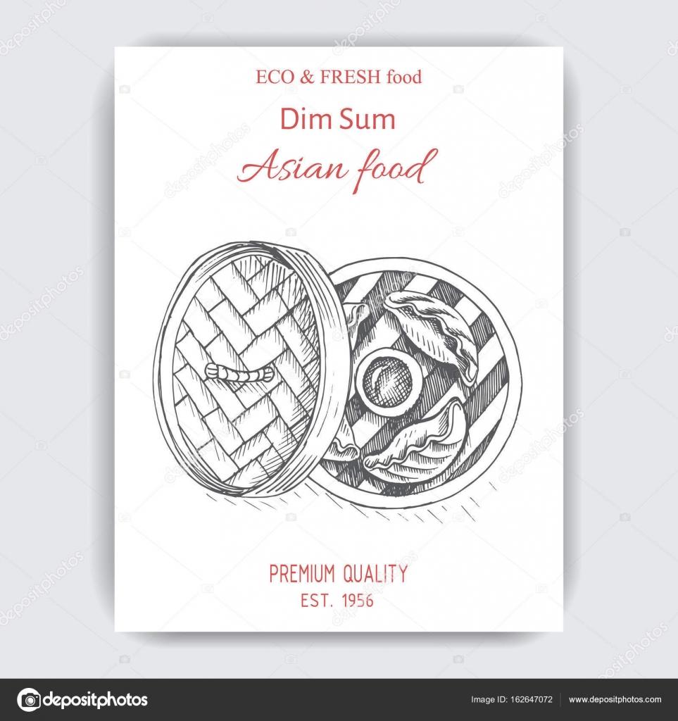 Asian food menu design template stock vector art romashka 162647072 asian food menu design template stock vector maxwellsz