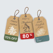Fotografie Christmas gift tags