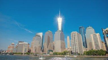 One World Trade Center New York City skyline