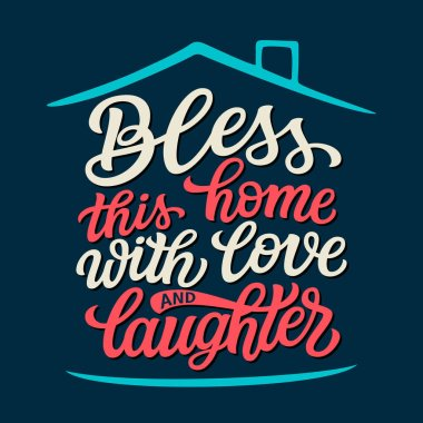 Bless This House Premium Vector Download For Commercial Use Format Eps Cdr Ai Svg Vector Illustration Graphic Art Design