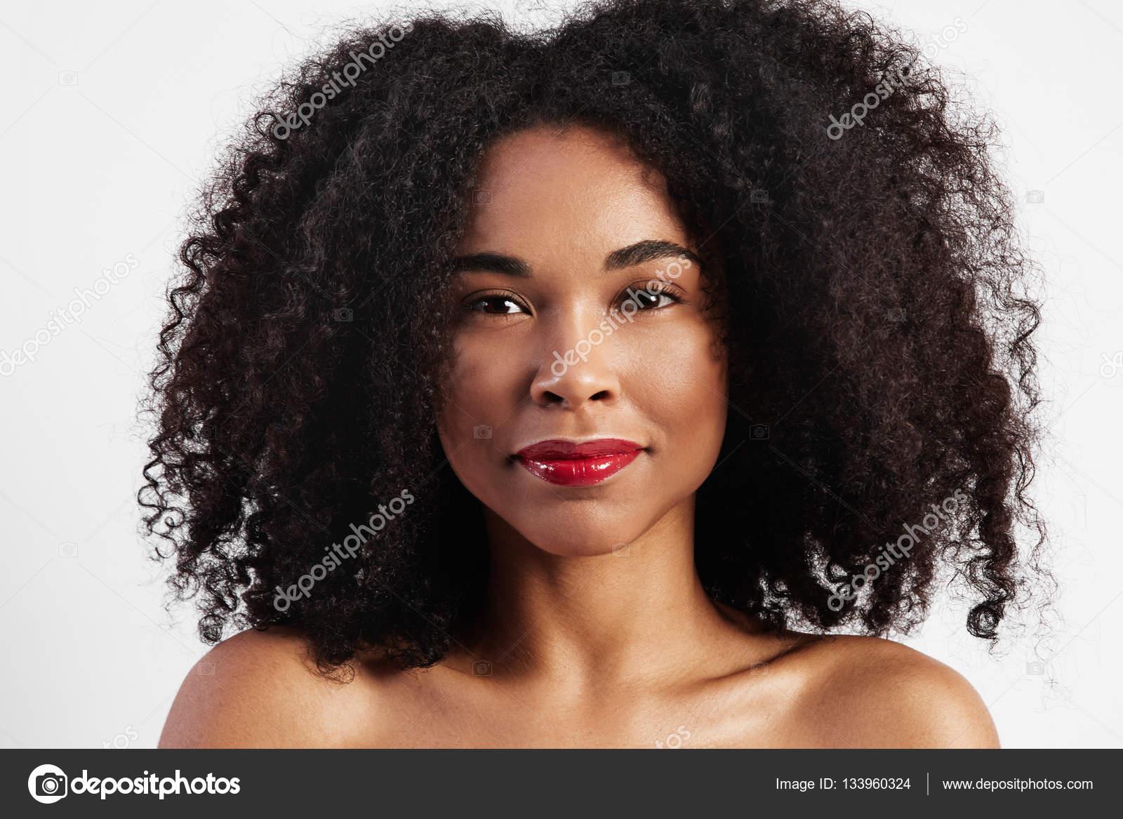 Cabello afro de mujer