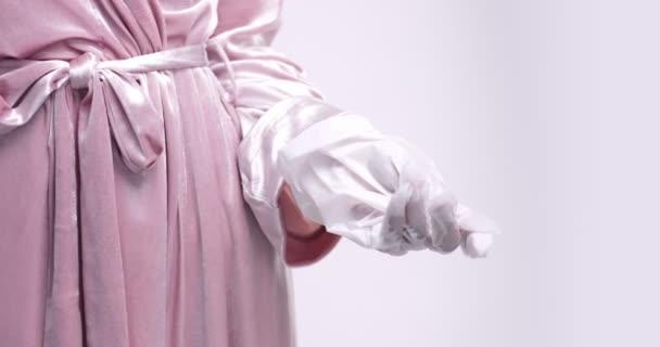 Ruční kůže péče rukavice maska