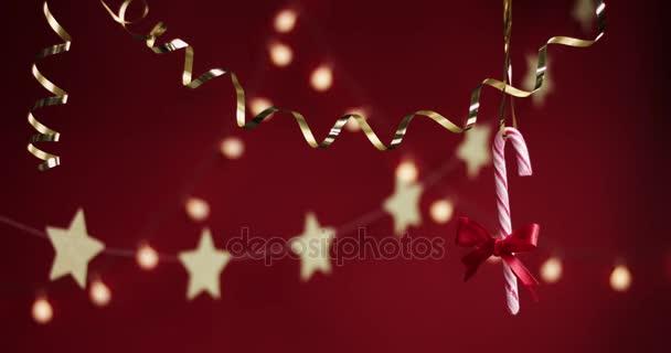 Krásné stylové vánoční dekorace