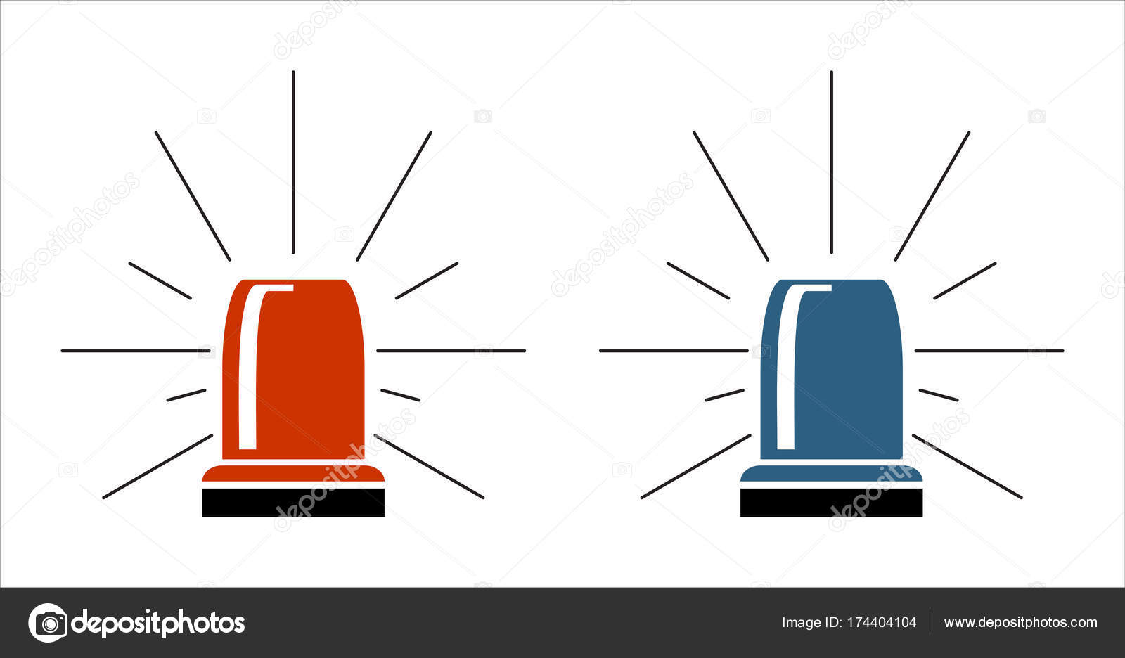 Special police flasher light emergency department ambulance accident special police flasher light emergency department ambulance accident tow snow removal logo sign symbol vector by nikvector20gmail buycottarizona Images
