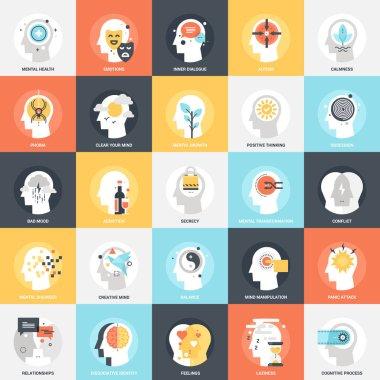 Human Psychology Icons