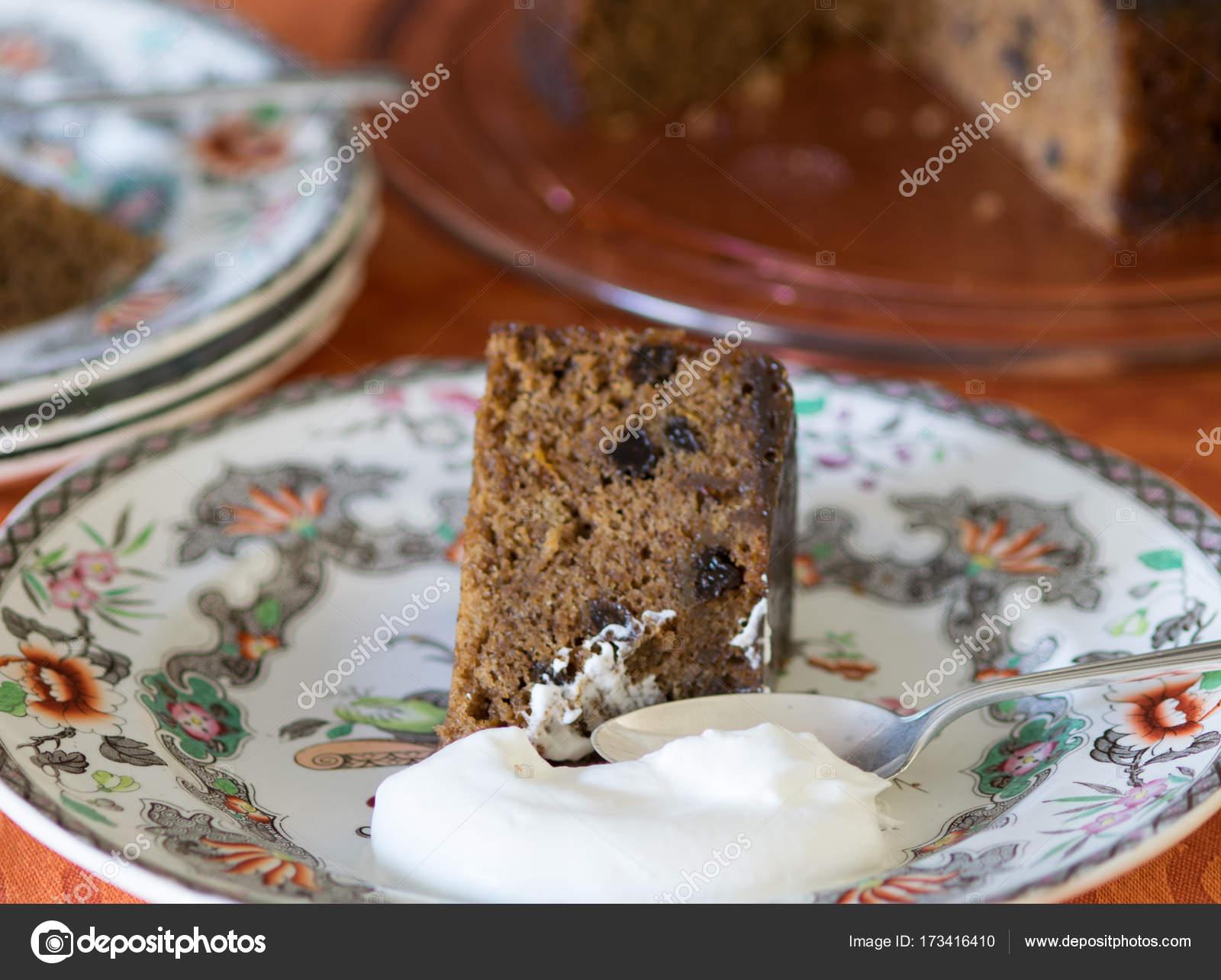 Gingersnap Pudding Kuchen Ubrig Gebliebenen Gingersnap Platzchen