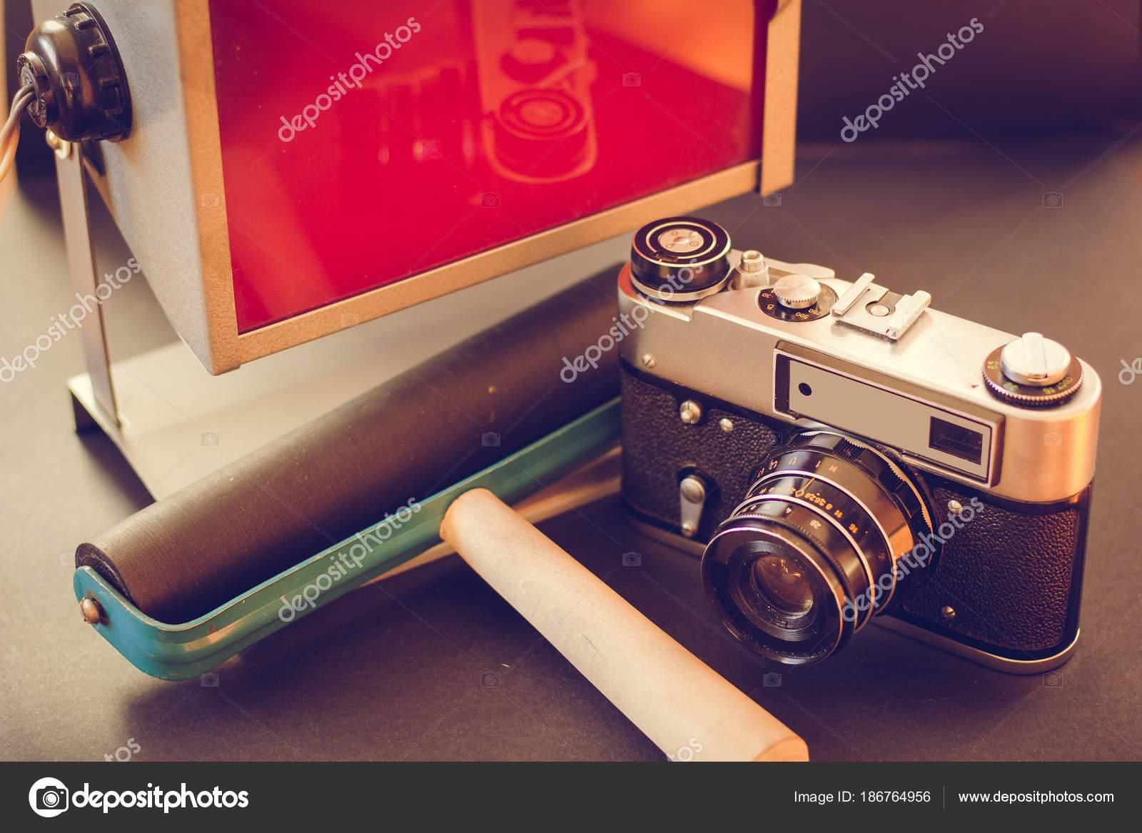 Accessories Developing Film Printing Photos Old Vintage