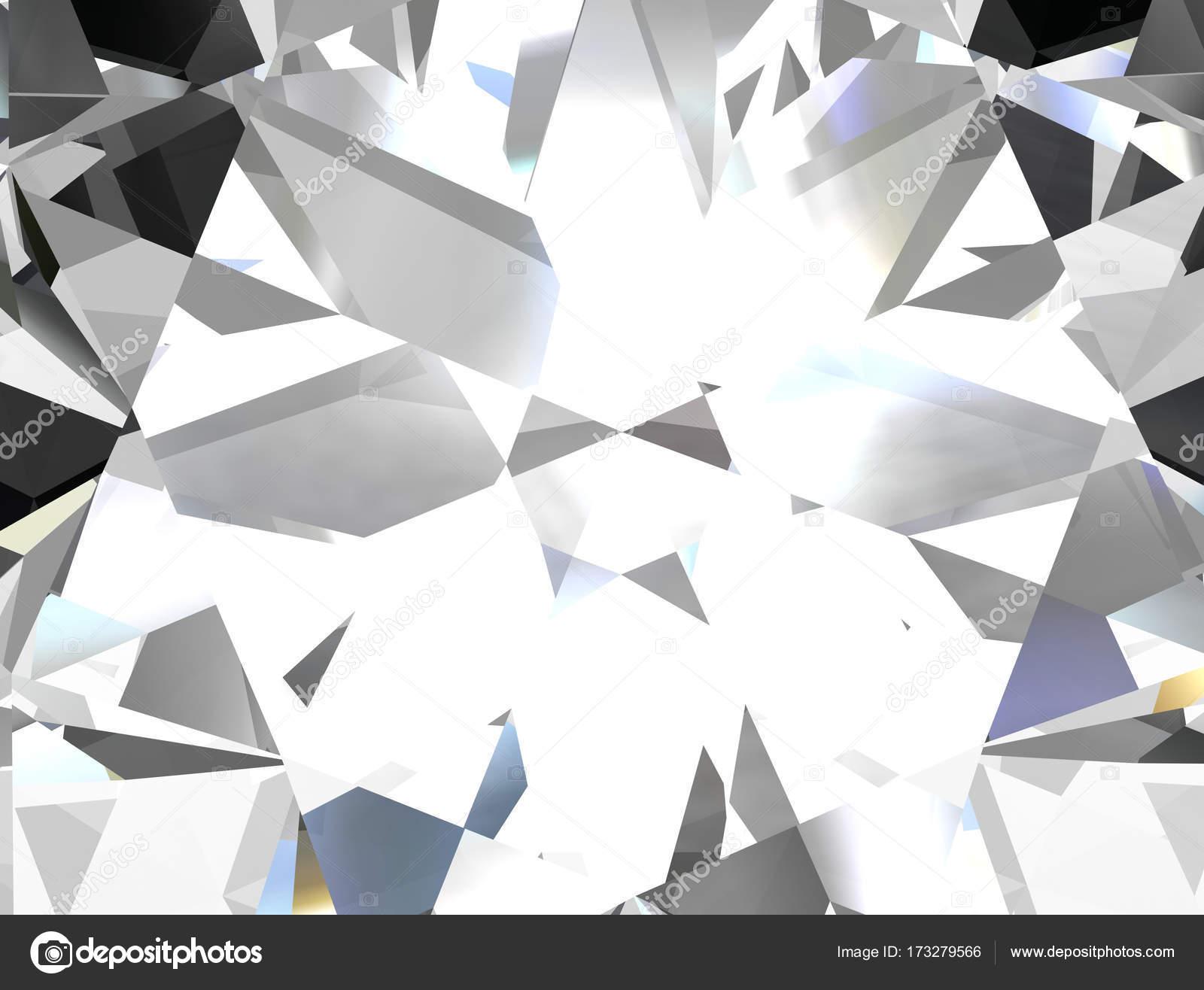 Realistic Diamond Texture Close Illustration — Stock Photo © Boykung #173279566
