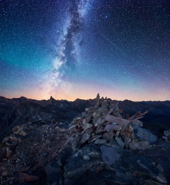 Milkyway in the French Alps