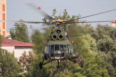 Mi-8 Helicopter in Krakow Airshow