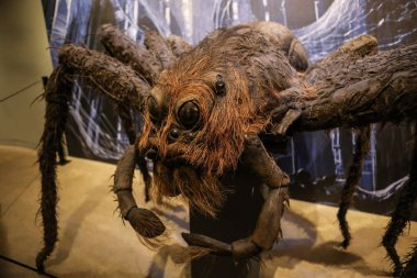 USA, Los Angeles - 21.03.2018 A giant spider from Harry Potter Warner Bros, USA