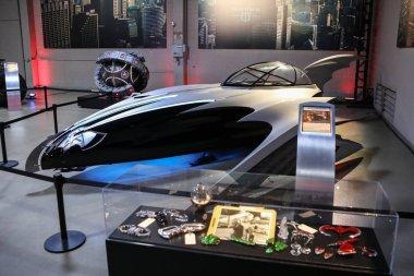 USA, Los Angeles - 21.03.2018 Batman cars in Warner Bros, USA