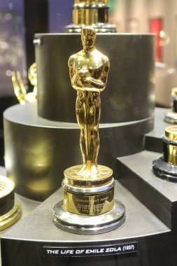 Oscar for Life of Emil Zola in Warner Bros