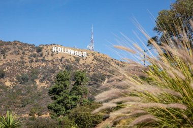 Los Angeles, United States - 13.11.2019 Hollywood sign in Los Angeles in 13.11.2019 in Los Angeles, United States