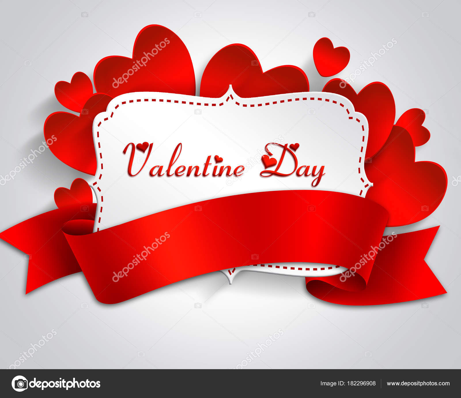 Valentine Tag Rahmen Mit Label Und Herzen — Stockvektor © lily45 ...