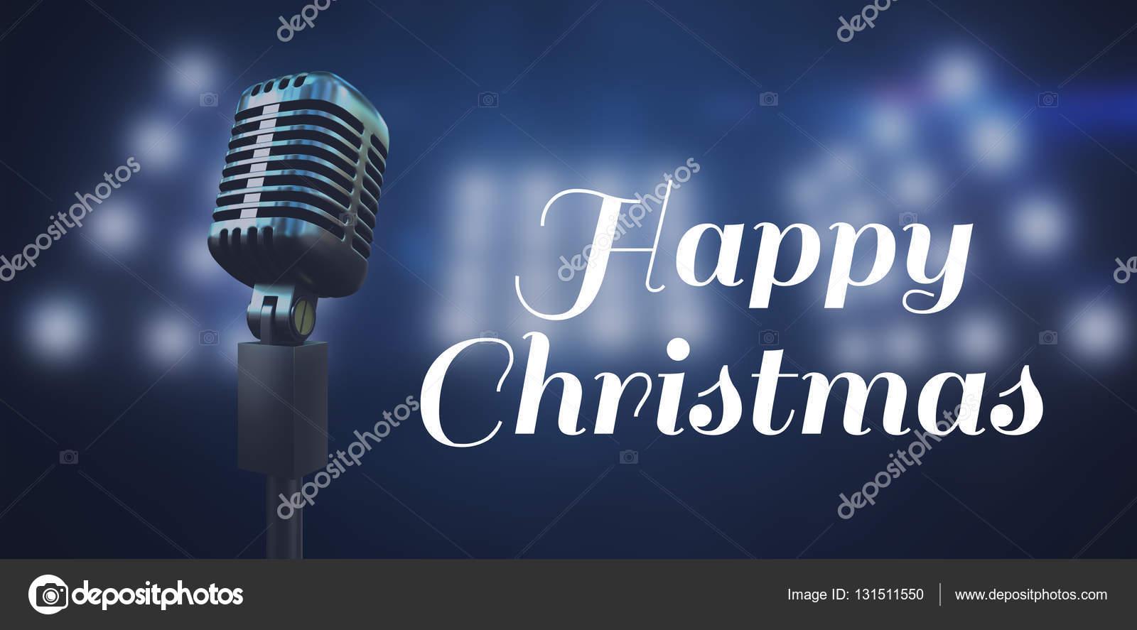 Joyeux Noel Audio.Joyeux Noel Contre Du Projecteur Photographie