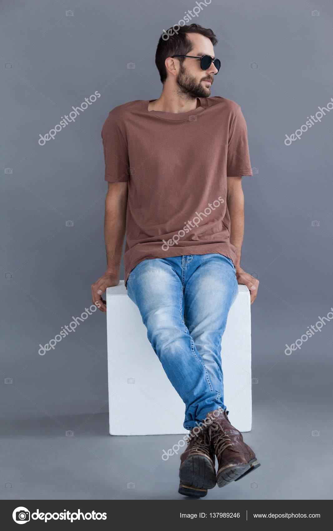 Soleil Sur En Shirt Bloc T Lunettes Et Brun Homme De 0Hqw8HCg d009acbebb1b