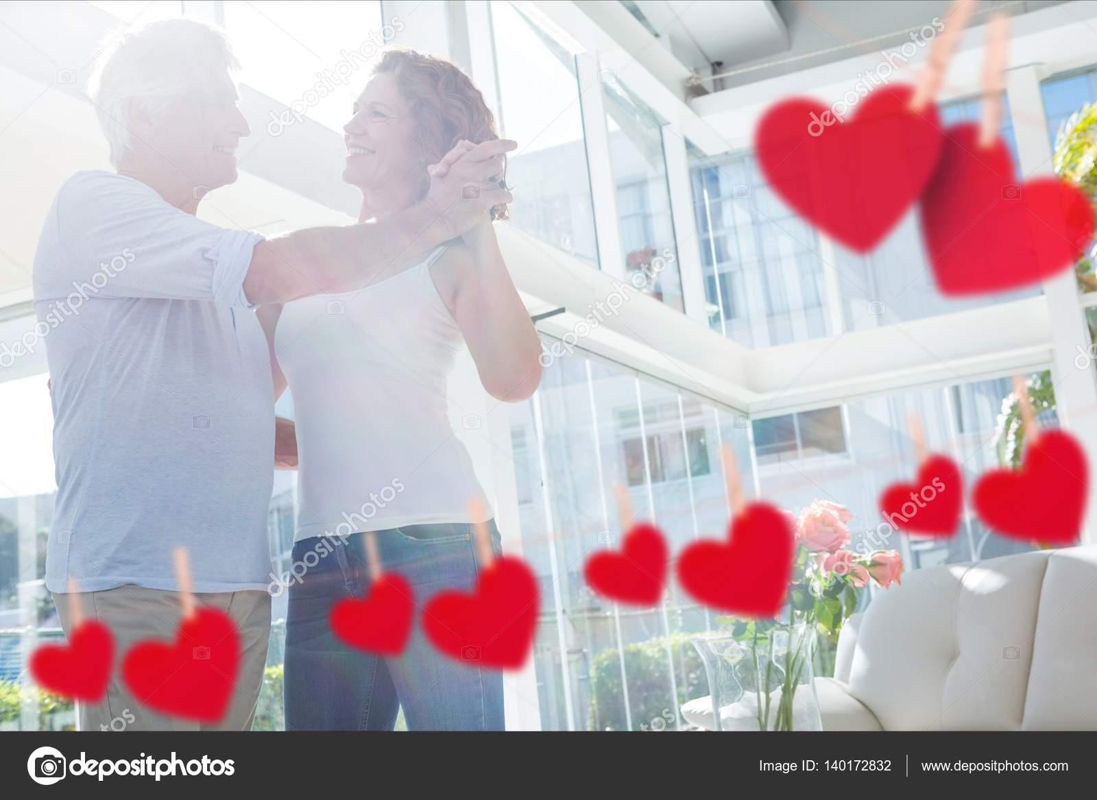 mature couple dancing — stock photo © wavebreakmedia #140172832