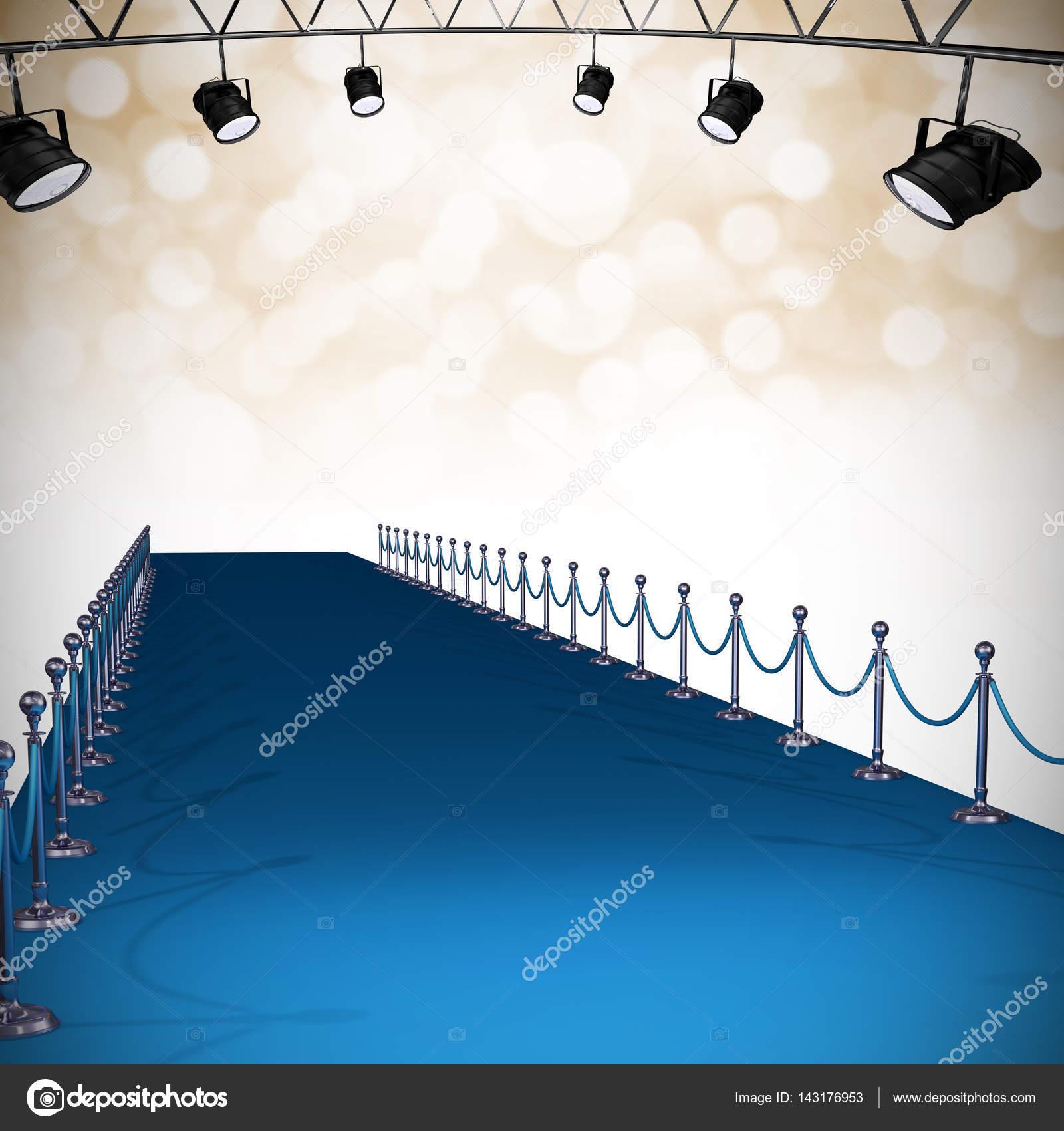 3D Scheinwerfer vor Weihnachten Hintergrund — Stockfoto ...