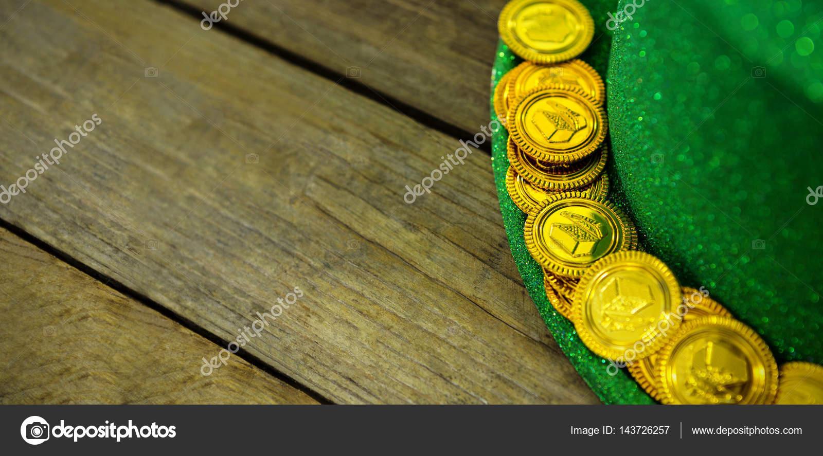 День святого Патрика Gallery: День Святого Патрика Лепрекон шляпа с золотой шоколадные