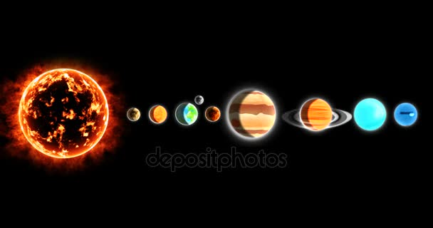 row planets in space - photo #43