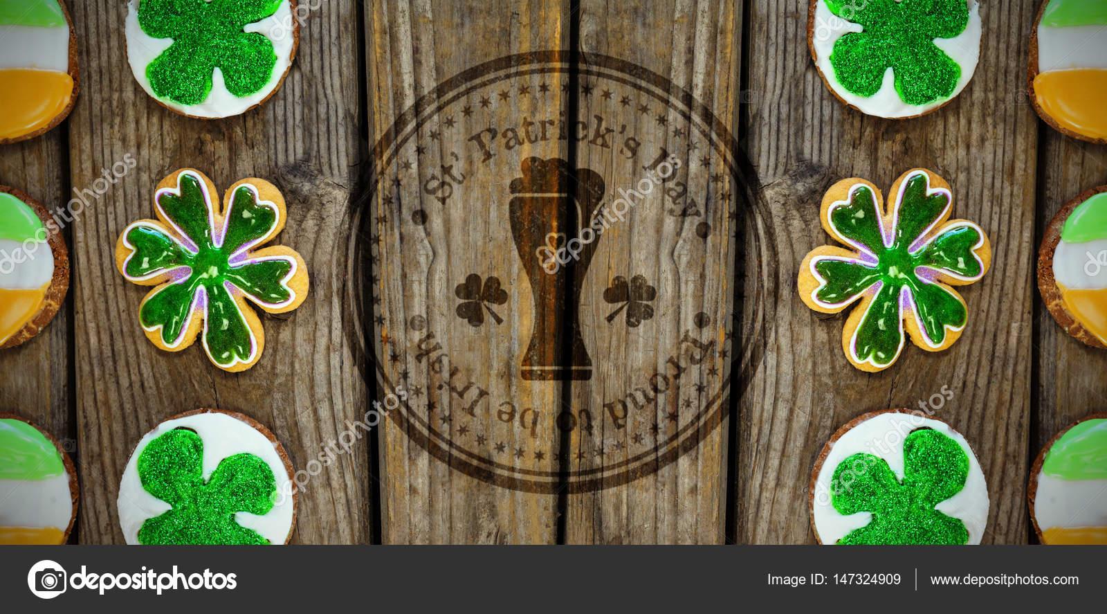День святого Патрика Gallery: День Святого Патрика с символом стакан пива