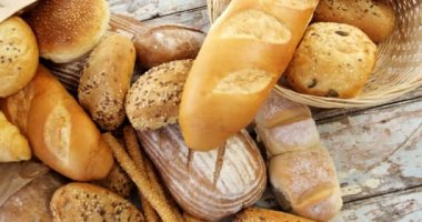 Various Types Of Bread Loaves