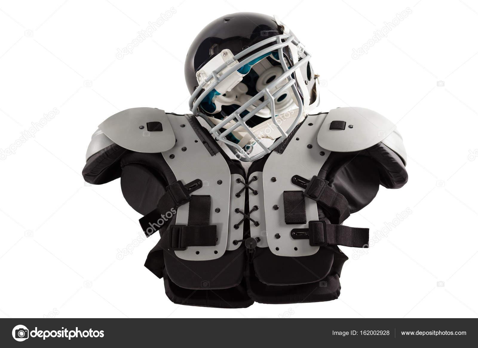 Sportschutzhelm auf Brustschutz — Stockfoto © Wavebreakmedia