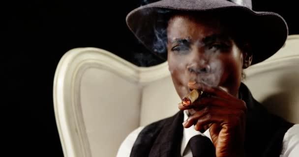 Smoking Cigar Video