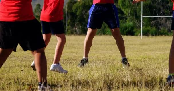Filhos de treinamento de treinador no boot camp