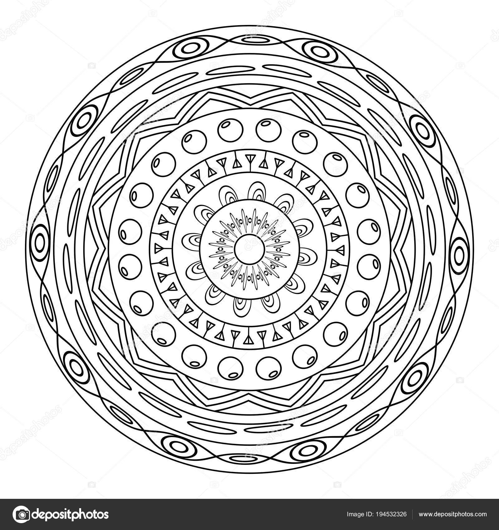 malvorlagen mandala in english  zeichnen und färben