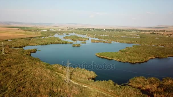 Traian lake nature reserve located in northern Dobrogea - Romania