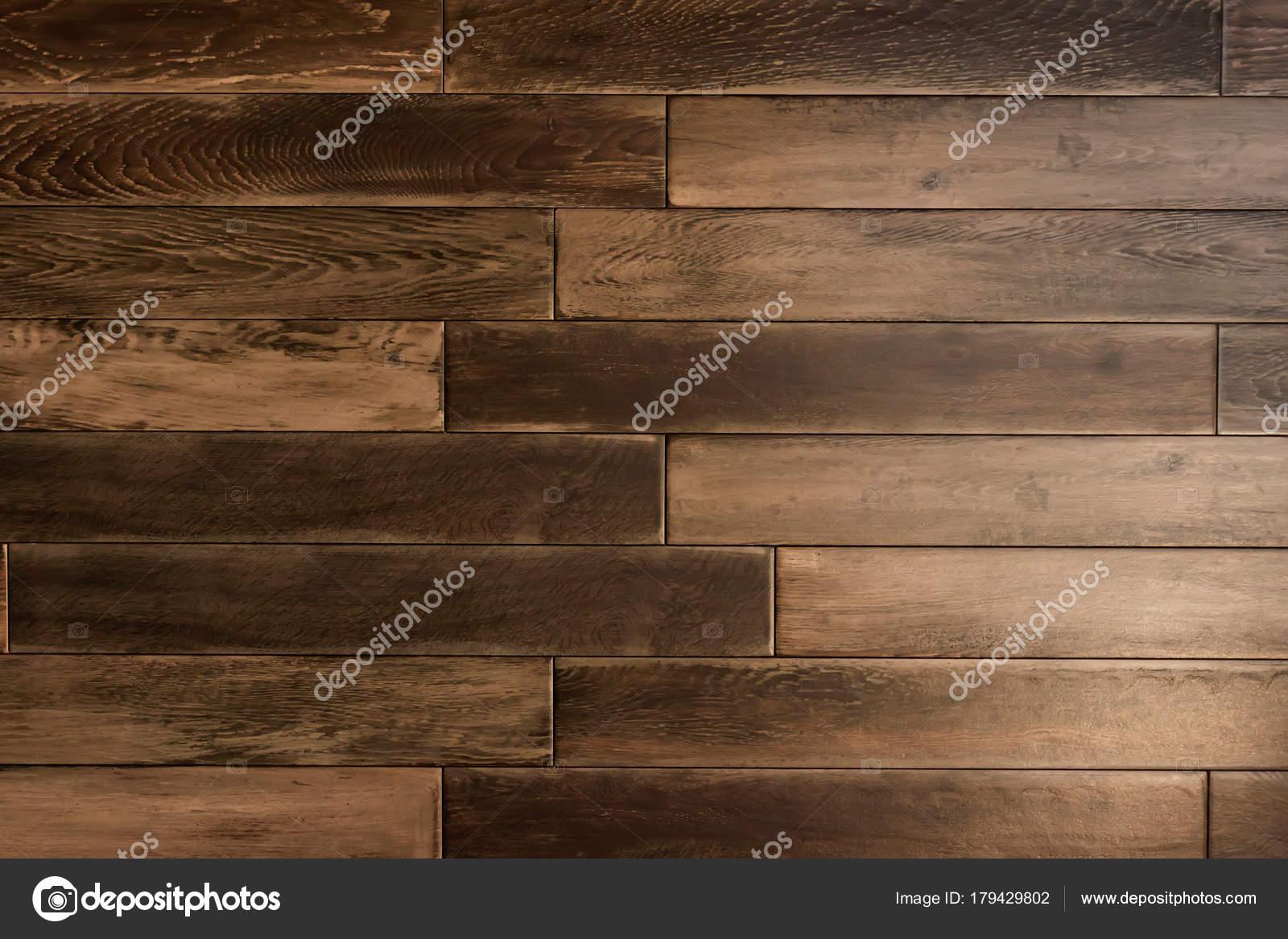 Textuur een bruin houten vloer bruin hout planken parket
