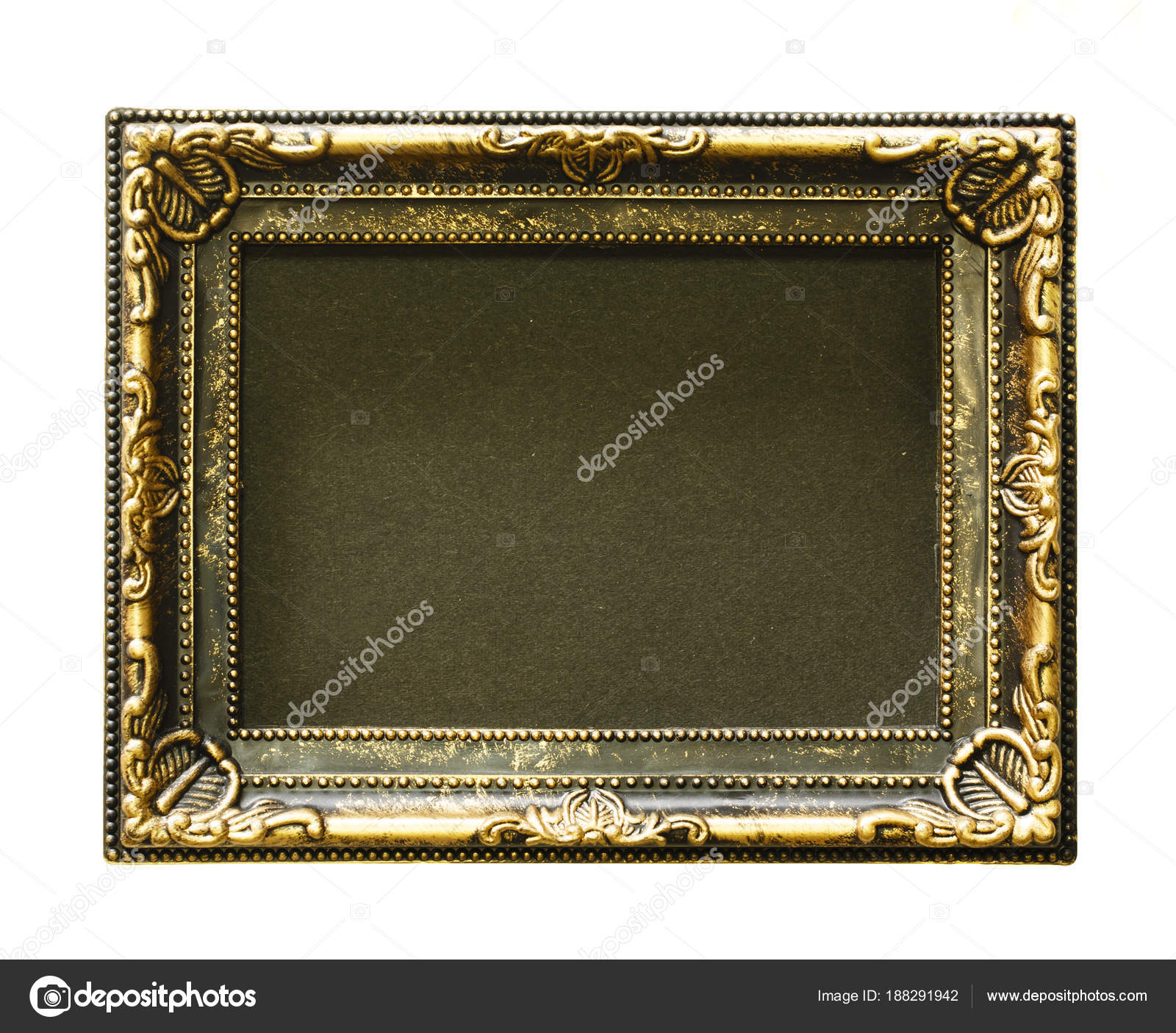Goldrahmen. Gold/vergoldete Kunsthandwerk Muster Bilderrahmen ...