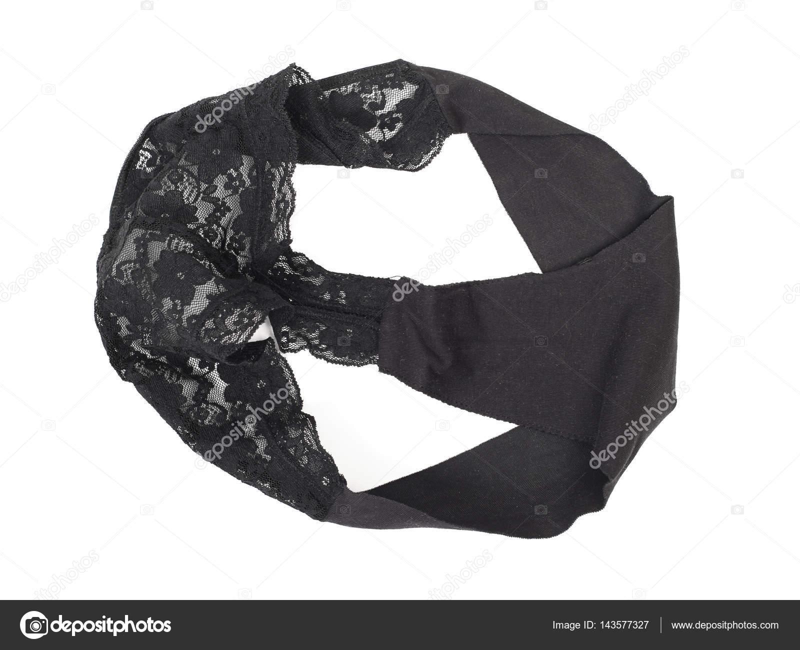 3369ce0c4 calcinha de renda preta — Stock Photo © igorkovalcuk  143577327