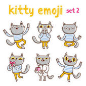 Emoji cica szett 2