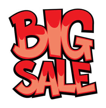 Big sale stock illustration