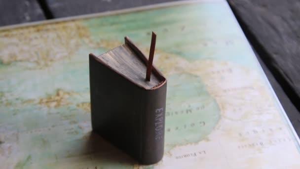 Prozkoumat nebo cestovní nápad. Mapa - Severní Amerika od Claude Bernou 1681