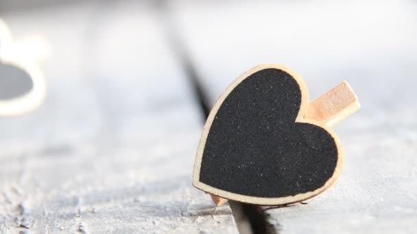Szív. Szerelmi szimbólum. Valentin-nap jele, másol hely, retro stílusú