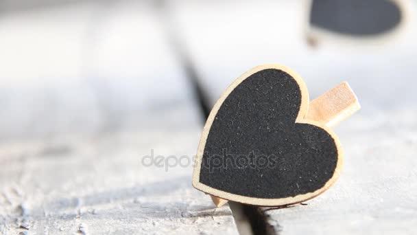 Srdce. Symbol lásky. Valentinky den znamení, kopie prostor