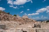 Fotografie elefsina, der Ort, an dem jedes Jahr Ende September die eleusinischen Mysterien (elefsinische Mysterien) stattfanden.