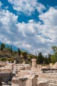 Fotografie elefsina, wo jedes Jahr Ende September die eleusinischen Geheimnisse (elefsinische Mysterien) stattfanden. die eleusinischen Mysterien waren eine Initiationszeremonie zum Demeter-Kult