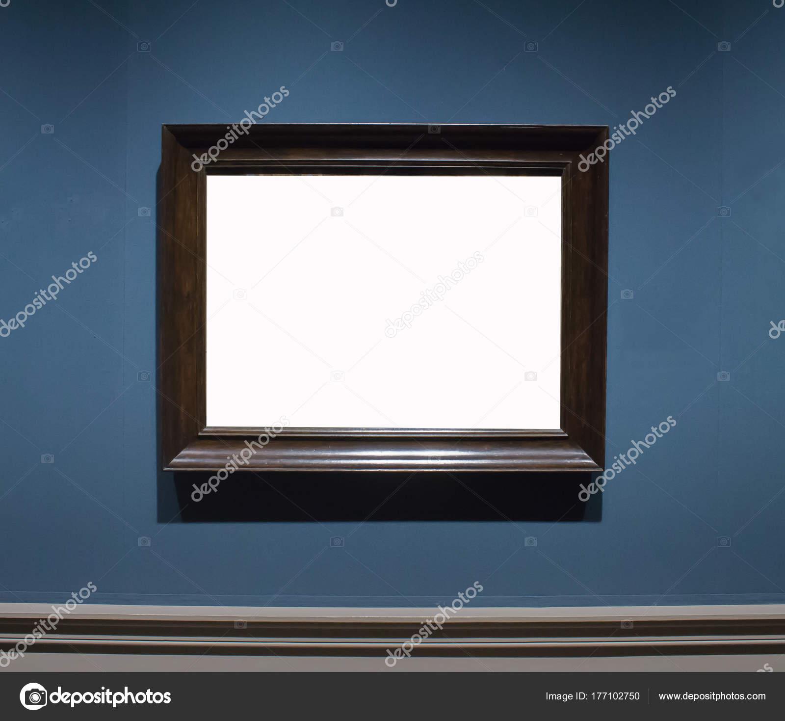 Un recargado cuadro madera marco Galería Museo de arte exposición en ...