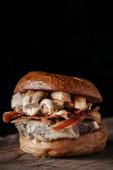 Fotografie Gourmet burger for foodies